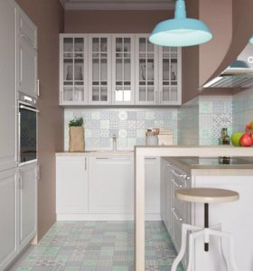 Воздушная белая кухня 👑