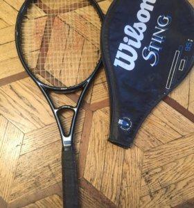 теннисная ракетка wilson sting 95 high beam