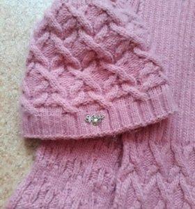 Шапка+шарф. Зима