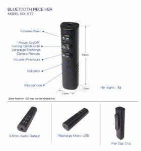 Reciver bluetooth для наушнико колонок магнитол