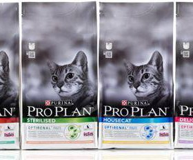Сухие корма премиум класса Pro Plan