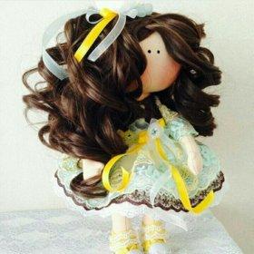 Кукла интерьерная,  текстильная.