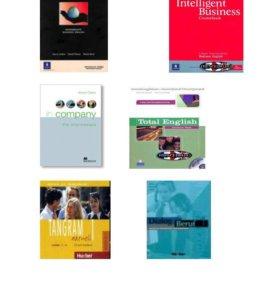 Учебники британских изданий в ассортименте, новые