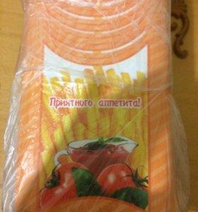 Бокс бумажный для жареного картофеля фри (50 шт)