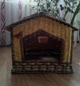 Домик-будка для кошек или собачек