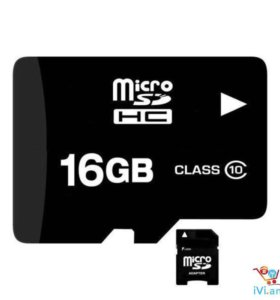 Micro SD Flash 16GB (флешка)