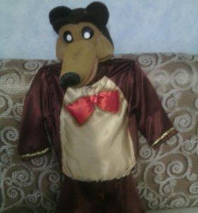Новогодний костюм , маша и медведь.