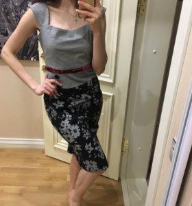Платье - миди футляр
