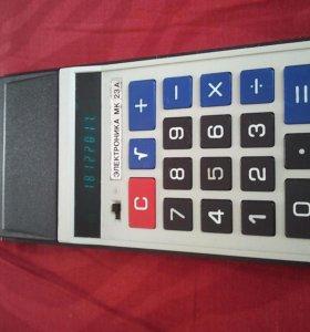 Калькулятор Электроника мк 23А
