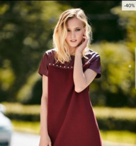 Платье бордовое (новое)