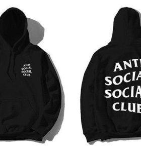 Толстовка Anti Social Social Club Black