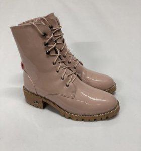 Ботинки лакированные Dior зимние