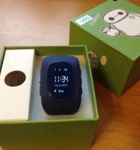 Новые детские часы с gps-маячком| уценка!