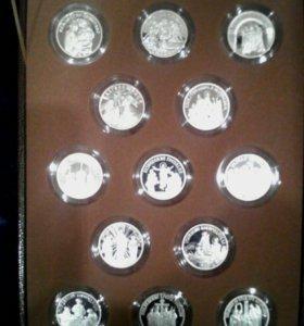 Коллекция серебряных медалей