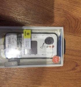 Чехол аккумулятор для iPhone 6,5000 ma/h