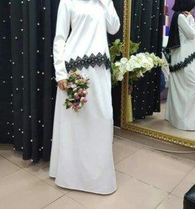 Юбка и блузка хиджаб