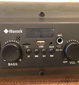 Бумбокс Bluetooth караоке