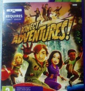 """Игровой диск """"Kinect Adventures"""" xbox 360"""