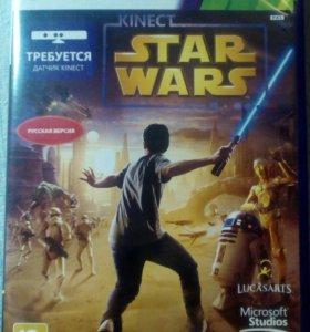 """Игровой диск """"Kinect Star Wars"""" xbox 360"""