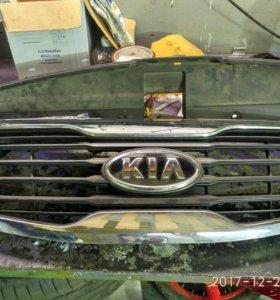 Решетка радиатора на Kia Sportage 3