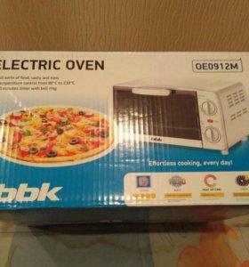 Электро печь bbk новая в упаковке