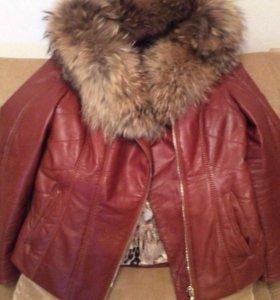 Куртка натуральная кожа Р 44-46