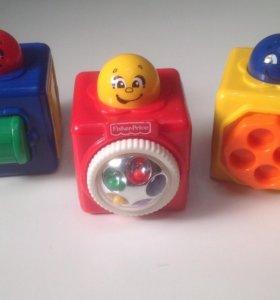 Кубики детские развивающие