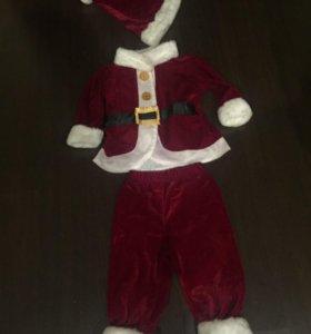 Новогодний костюм Санта Клаус