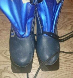 Ботинки лыжные новые размер 47