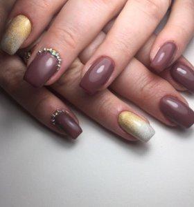 Наращивание ногтей Акция