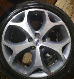 Колеса Ford r18 5x108 на летней резине ТОРГ!