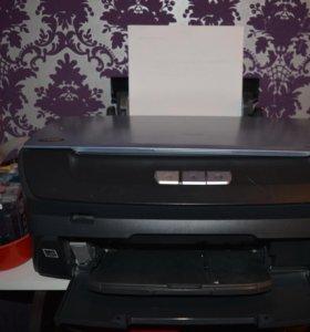 Принтер Epson R270 в комплекте с СНПЧ.