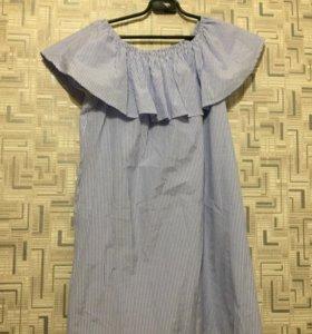Платье с рюшами Твоё