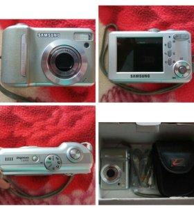 Цифровой фотоаппарат Samsung s1000