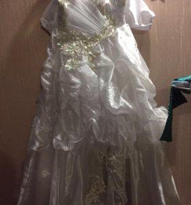 Платье девочке 10-12 лет