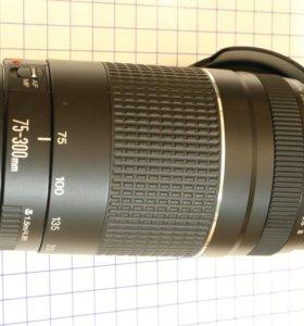 Телеобъектив Canon EF 75-300mm 4-5.6