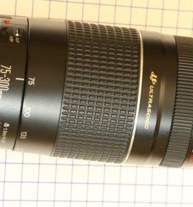 Телеобъектив Canon EF 75-300mm 4-5.6 USM