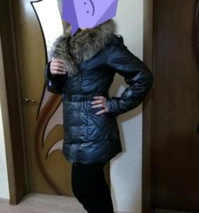 Куртка зимняя с нат.мехом