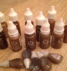 Пигменты для перманентного макияжа