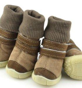 Обувь для собак (сапожки)