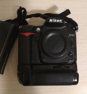 Фотоаппарат зеркальный Nikon D7000 + MB-D11