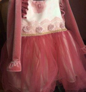Красивое платье на 1,5 -2 года