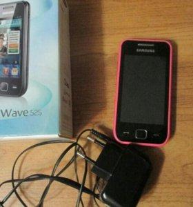 Телефон Samsung Wave 525