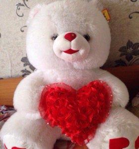 Медведь, плюшевая игрушка, мишка