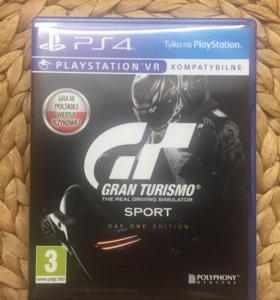 Игра Gran Turismo Sport