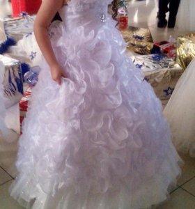Платье для девочки 7-9 лет