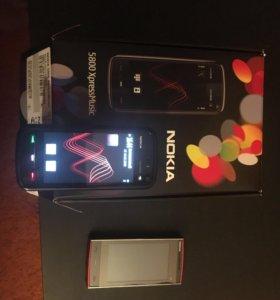 Nokia 5800 и Nokia x6