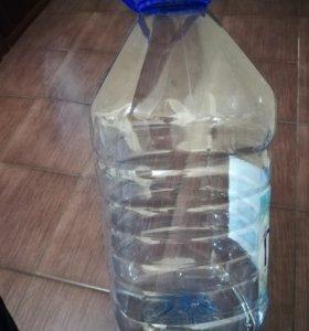Продам пластиковые бутылки 5 литров