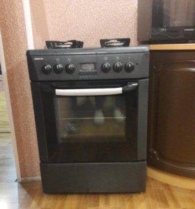 Плита верх-газовый, духовка-электрическая
