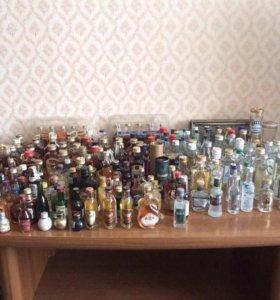 Коллекция бутылочек объёмом не более 0,1